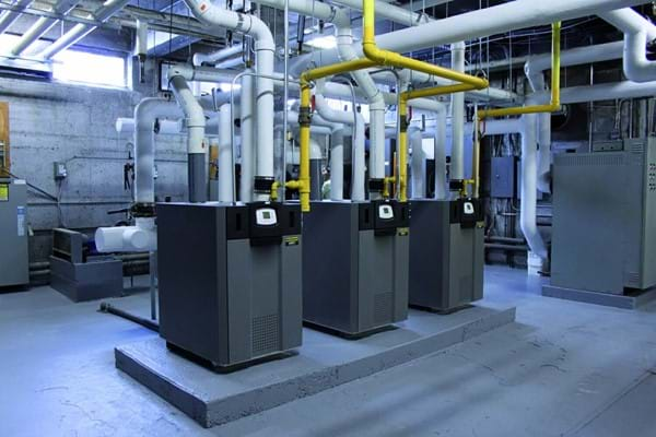 Commercial heating units
